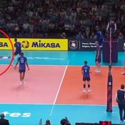 Euro de volley : Quand Grebennikov et Ngapeth font le show face à l'Italie