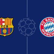 Le Bayern Munich élimine FC Barcelone