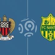 Nice s'impose face à Nantes