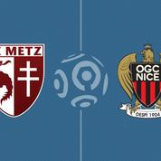 Metz et Nice se neutralisent