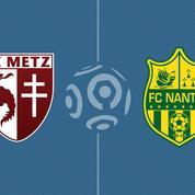 Metz s'impose face à Nantes