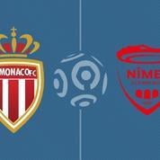 Monaco surclasse Nîmes