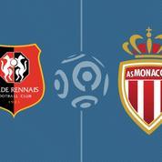 Rennes s'impose sur le fil face à Monaco