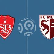 Match spectaculaire entre Metz et Brest