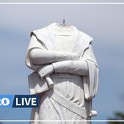 Attaques sur des statues de Christophe Colomb, perçu comme un symbole du génocide des Amérindiens