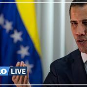 Accusé de s'être réfugié dans l'ambassade de France, Juan Guaido réapparaît dans les rues de Caracas
