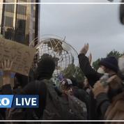 Mort de George Floyd: à New York, les manifestations se poursuivent malgré le couvre-feu