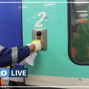 Covid-19: comment la SNCF désinfecte ses trains ?