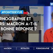 Pornographie et mineurs: Macron a-t-il eu la bonne réponse ?