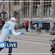 Ce Belge parodie le mètre de distance pour sensibiliser