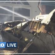Pakistan: crash d'un avion dans un quartier résidentiel de Karachi