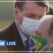 Selon Bolsonaro, les mesures de lutte contre le Covid-19 sont «plus nocives» que la maladie