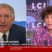 François Bayrou juge «brutale» et «infondée» l'exclusion de Gérard Collomb