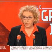 Muriel Pénicaud promet «un cocktail de mesures» après les discussions sur la réforme des retraites