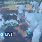 Coronavirus: au Brésil, le plus grand cimetière d'Amérique latine à plein régime