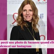 Non Stop People - Sandrine Kiberlain maman : des clichés inédits de sa fille Suzanne dévoilés