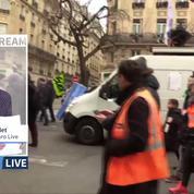 Retraites: revivez la manifestation à Paris