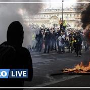 Soignants: la manifestation parisienne émaillée de violences
