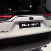 Salon de l'auto : la Toyota RAV 4