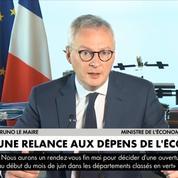 Bruno Le Maire: passer à côté «d'une relance verte serait une erreur historique»