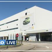 Renault: des salariés inquiets à l'usine de Sandouville