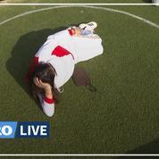 À New York, des cercles sur la pelouse d'un parc pour respecter la distanciation physique