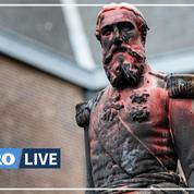 Belgique: symbole du colonialisme, une statue du roi Léopold II retirée à Anvers