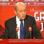 Jean-Yves Le Drian défend un «travail de mémoire» sur l'Algérie