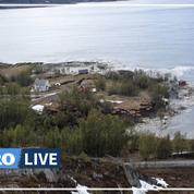 Norvège: un glissement de terrain emporte plusieurs maisons