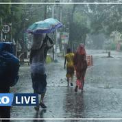 Le cyclone Amphan frappe l'Inde et le Bangladesh