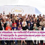 Non Stop People - Julie Gayet : Sa pique au gouvernement pour soutenir la culture