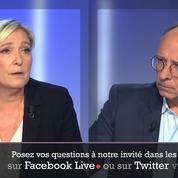 Pour Marine Le Pen, Emmanuel Macron «casse la France»