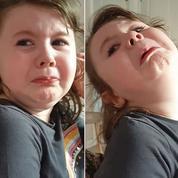 Confinement : une fillette pleure en apprenant que les fast food sont fermés