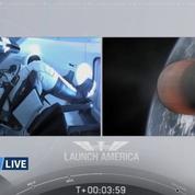 Lancement réussi pour SpaceX et la capsule Crew Dragon vers l'ISS