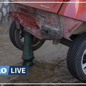 Pluies à Ajaccio: «C'était une déferlante», rapporte un témoin