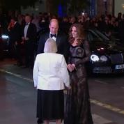 L'arrivée remarquée de Kate Middleton dans une robe Alexander McQueen
