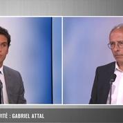 Audition Publique: Gabriel Attal répond à Yves Thréard