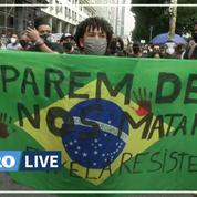 «Nous avons nos propres George Floyd»: le Brésil manifeste contre les violences policières