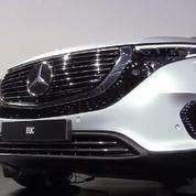 Salon de l'auto : la Mercedes EQC