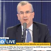 Économie: la Banque de France prévoit une «récession» de «10% en 2020»