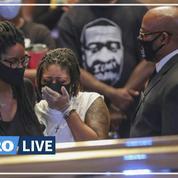 George Floyd: un groupe de gospel lui rend hommage à ses funérailles
