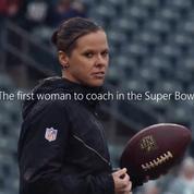 Katie Sowers, première femme coach du Super Bowl