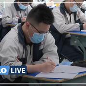 Coronavirus: à Wuhan, les lycéens retournent en cours après deux mois d'absence
