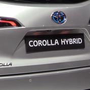 Salon de l'auto : la Toyota Corrolla Tourning Sports