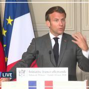 «L'Europe de la santé doit devenir notre priorité», affirme Macron