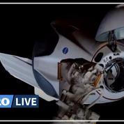 La capsule de SpaceX Crew Dragon s'est amarrée à l'ISS