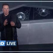 La présentation ratée du nouveau pick-up de Tesla