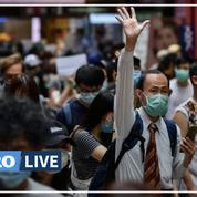 Hongkong: échanges de tirs entre la police et les manifestants pro-démocratie