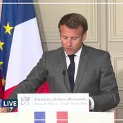 500 milliards d'euros: le plan de Macron et Merkel pour relancer l'Europe