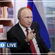Covid-19: Vladimir Poutine vante la gestion russe face à celle de Washington